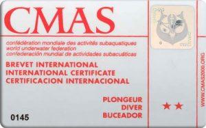 CMAS-diver-2-star